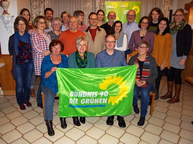 Listenaufstellung der Grünen Liste für Bad Abbach